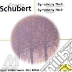 Schubert - Symphonies N. 8/9 - Bohm cd musicale di BOHM
