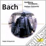 GOLDBERG VARIATIONS/KIRKPATRICK cd musicale di BACH JOHANN SEBASTIAN