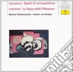 QUADRI DI UNA ESPOSIZIONE                 cd musicale di MUSSORGSKY/STRAVINSKY