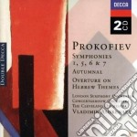SYMPHONIES 1,5,6 & 7 cd musicale di ASHKENAZY