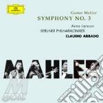 SYMPHONY N.3/ABBADO (2CD) cd musicale di Gustav Mahler