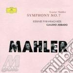 SYMPHONY N.7/Claudio Abbado cd musicale di MAHLER