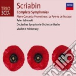 COMPLETE SYMPHONIES                       cd musicale di ASHKENAZY