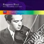 REGISTRAZIONI 1950/1960 cd musicale di RICCI