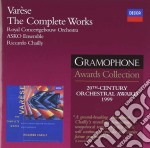 Asko Ens/chailly - Varese/the Complete Works cd musicale di Edgar Varese