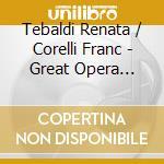 RECITALS cd musicale di Tebaldi/corelli