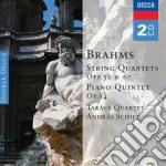 QUARTETTI PER ARCHI 1-3                   cd musicale di Quart. Takacs