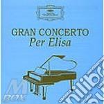 GRAN CONCERTO PER ELISA/5CD Spec.Pr. cd musicale di ARTISTI VARI