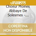 Sollemnia cd musicale di Abbaye de solesmes