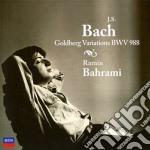GOLDBERG VARIATIIONS BWV 988/BAHRAMI cd musicale di BAHRAMI
