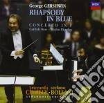 RHAPSODY IN BLUE - GEORGE GERSHWIN -      cd musicale di BOLLANI STEFANO-RICCARDO CHAIL