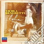 Italia cd musicale di Nicola Benedetti