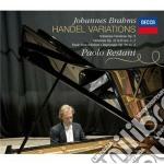 Handel variations cd musicale di Restani