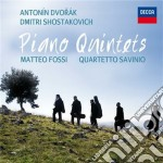 Piano quintets cd musicale di Savinio Fossi/q.