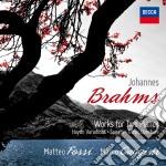 Sonata per due pf. cd musicale di Fossi/gaggini
