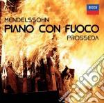 Piano con fuoco cd musicale di Prosseda