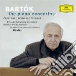 THE PIANO CONCERTOS                       cd musicale di BOULEZ
