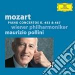 Mozart - Conc. X Pf K453 & 467 - Pollini cd musicale di Maurizio Pollini