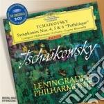 SINFONIE 4/6 cd musicale di TCHAIKOVSKY PETER ILYCH