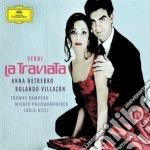 LA TRAVIATA                               cd musicale di NETREBKO/VILLAZON