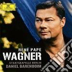Rene' Pape - Wagner cd musicale di PAPE/BARENBOIM/SB