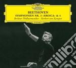 Beethoven - Sinf. 3 E 4 - Karajan/bp cd musicale di Karajan/bp