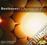 SINFONIE N. 5 E 7 cd musicale di BEETHOVEN