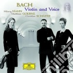 VIOLIN AND VOICE                          cd musicale di HAHN/GOERNE