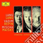 PIANO TRIOS                               cd musicale di Lang/repin/mais Lang