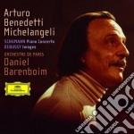 PIANO CONCERTO/IMAGES                     cd musicale di BENEDETTI MICHELANGELI ARTURO