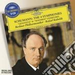 SINFONIE 1-4                              cd musicale di SCHUMANN