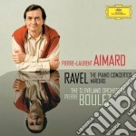 CONCERTI PER PF/MIROIRS                   cd musicale di AIMARD/BOULEZ/CO