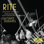 Stravinsky /r - Sagra/la Noche De Los Maya - Dudamel/sbyo cd musicale di DUDAMEL/SBYO