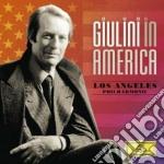 GIULINI IN AMERICA                        cd musicale di GIULINI/LAS