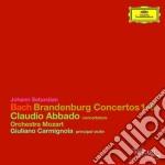 Concerti brandeburghesi cd musicale di Johann Sebastian Bach