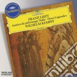 Annee de pelerinage: itali cd musicale di LISZT