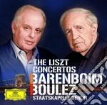 Barenboim / Boulez - The Liszt Concertos cd musicale di Barenboim/boulez