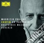 24 preludi/mazurke/notturn cd musicale di Pollini