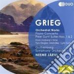 Musiche per orchestra cd musicale di Jarvi/gso