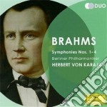 Sinfonie 1-4 cd musicale di Karajan/bp