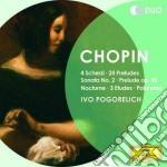 4 scherzi/24 preludi/sonat cd musicale di Pogorelich