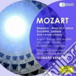 Requiem/messa in do cd musicale di Bernstein