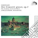 CONCERTI GROSSI OP. 3 cd musicale di HOGWOOD