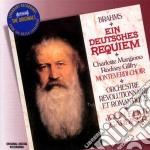 Brahms - Requiem Tedesco - Gardiner/orr cd musicale di GARDINER/ORR