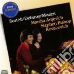 Bartok / Debussy - Sonata Per 2 Pf./en Blanc - Argerich/kovacevich cd musicale di ARGERICH/KOVACEVICH