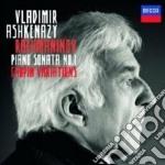 Sonata pf n.1/variazioni cd musicale di Ashkenazy