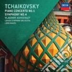 Tchaikovsky - Piano Concerto No.1 / Symphony No.4 - Vladimir Ashkenazy cd musicale di Ashkenazy/maazel
