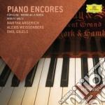Celebri brani per pianofor cd musicale di Argerich/gilels