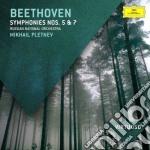 Sinfonie n.5 e 7 cd musicale di Pletnev/rpo
