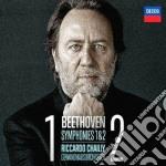 Sinfonie n. 1 e 2 cd musicale di Chailly/gol